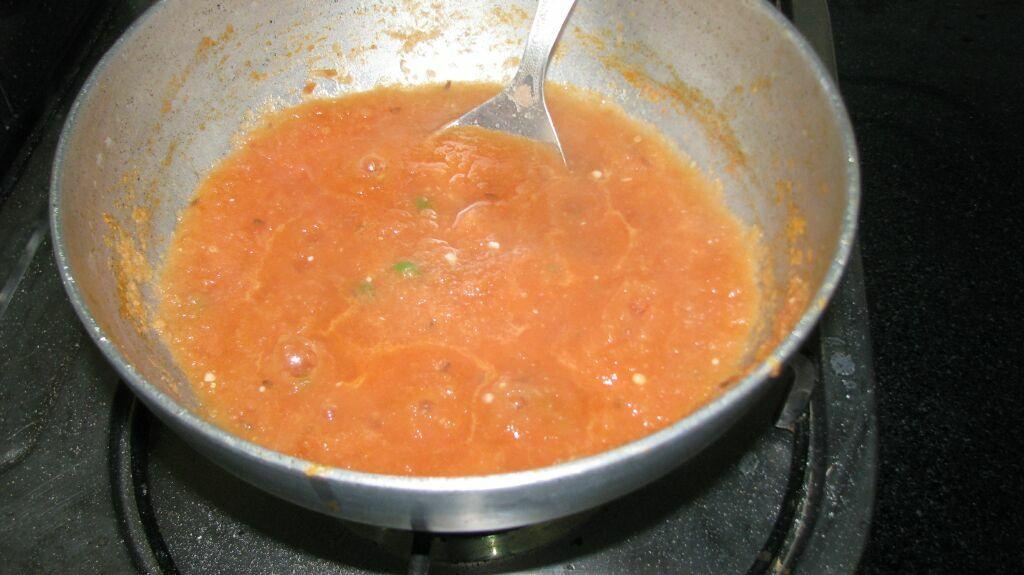 Tomato and Onion Paste