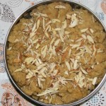 Moong Daal Halwa: Ready to serve