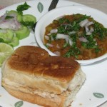 Ready to serve Paav-Bhaji