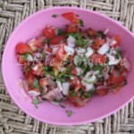 Chopped vegetable mixture